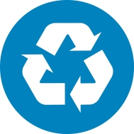 An image of a recycling symbol
