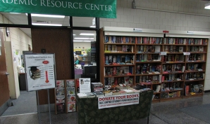 ARC center's used book store at Massasoit's Canton Campus