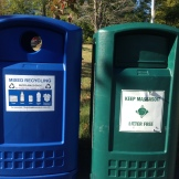 Recycle / Trash barrels